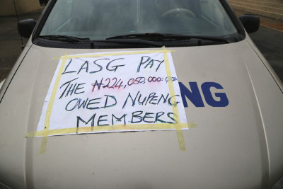 NUPENG, calling on LASG to pay them their money