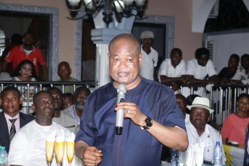 Chief Edwin Oludi: also leaves PDP for APC