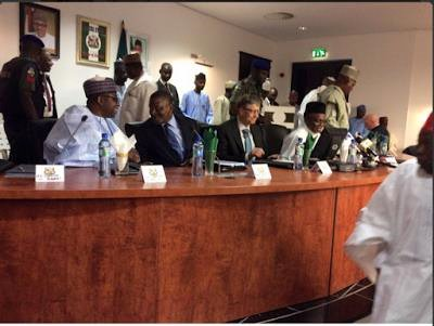 Dangote and Bill Gates with northern governors