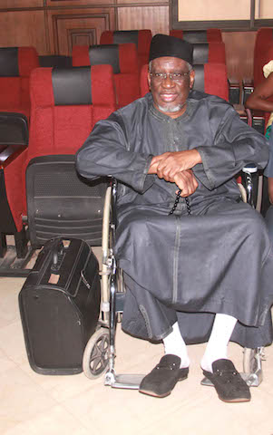 Dr Mohammed Bello Haliru: in court today: remanded in Abuja Clinics