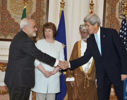 It's a deal: FM Zarif with US Secretary of State John Kerry in Vienna today