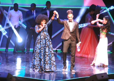 Omawumi and Pierre Emerick Aubameyang African Player of the Year