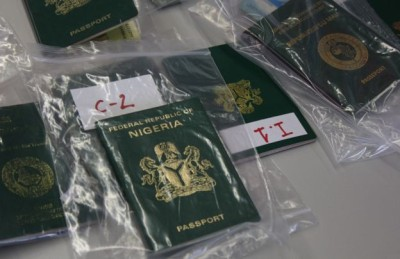 The traffickers use forged documents and passports