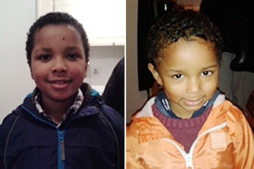 Zachary, 8, and Amon (right), 4, : also murdered