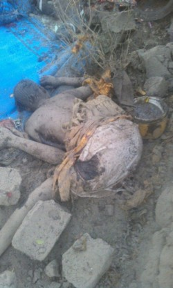 One of the suicide bombers  in Cameroon today