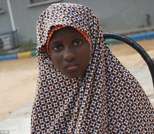 a female bomber arrested in Kano in 2014
