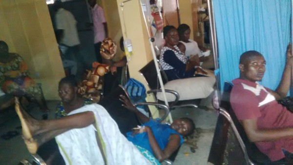 Outpatients at Orile Agege hospital