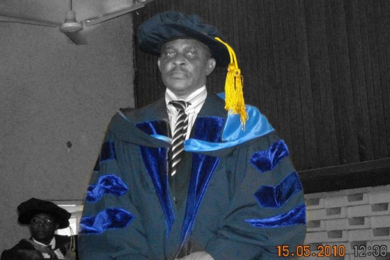 Professor Joseph Mba: charged with forgery