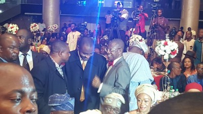 Alhaji Lai Mohammed, Information Minister and other guests