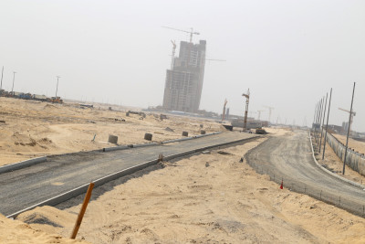 Another road under construction at the City. Photo credit: Idowu Ogunleye