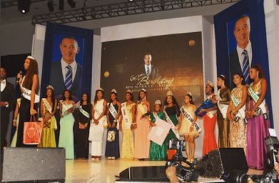 Beauty queens from different African countries