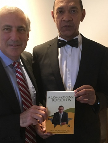 Bruce with Joe Trippi, Communication and Political strategist