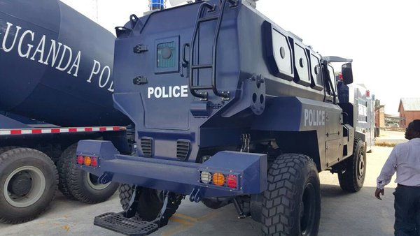Armoured vehicles imported for Uganda police