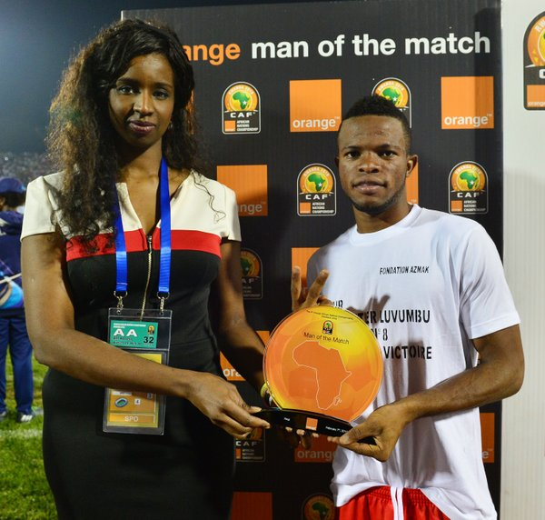 Meschak: won both the Orange Man of the Match and Orange Man of the Competition