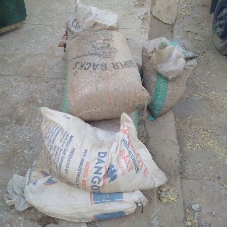 Boko Haram: bags of grains seized by army