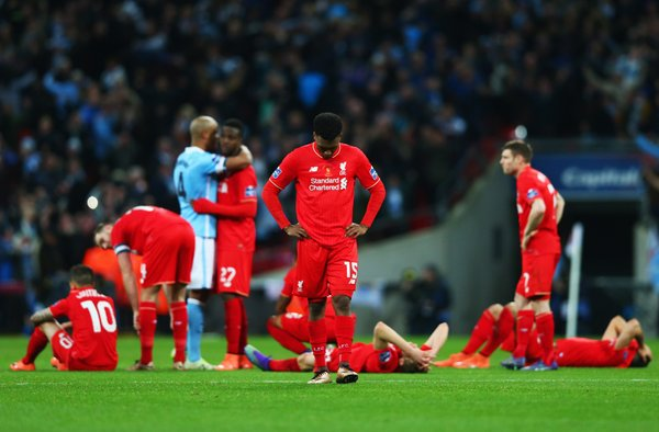 Liverpool Players: Disappointed