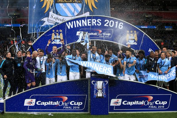 Man City Capital One Cup winners for 2016
