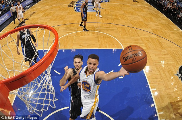 Curry at his game: against Orlando