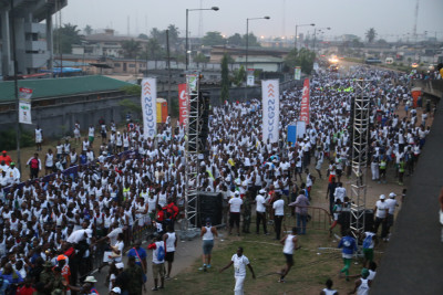 Participants from within and outside Nigeria