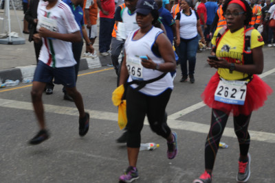 Female outlethes are not left out either. Photo Credit: Idowu Ogunleye
