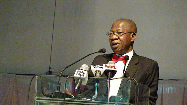 Lai Mohammed at the UNILAG lecture
