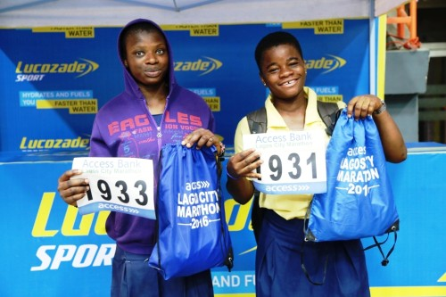 Some of the would-be marathoners who registered for the event