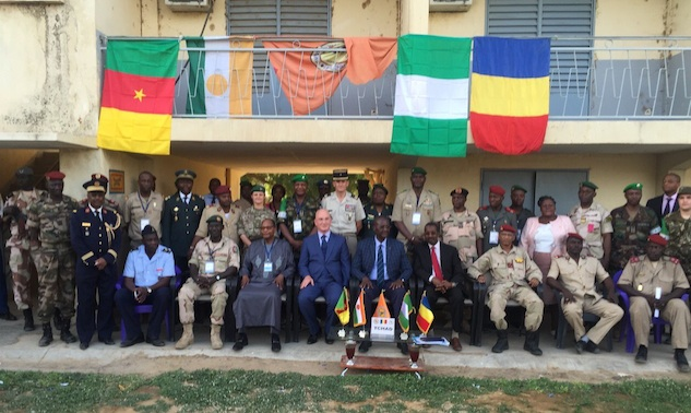 MNJTF at its launch in May 2015 in Ndjamena Chad