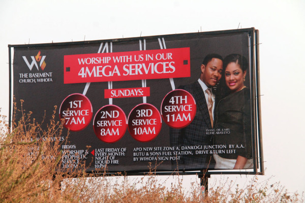 One of the billboards in Abuja