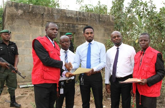 The house at Mowe handed over to Skye bank officials