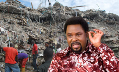 TB Joshua and the collapsed Synagogue Church  building