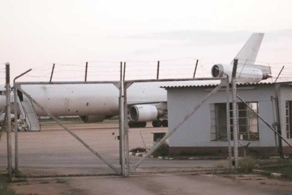 the MD 11 trijet cargo plane seized in Harare. Photo: Zimbabwe Herald