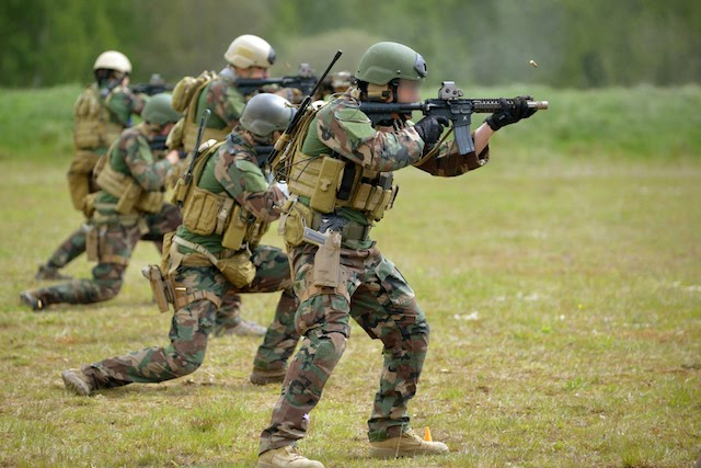 US Special Operations troops