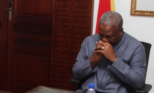President Mahama: sends condolences to relations of victims