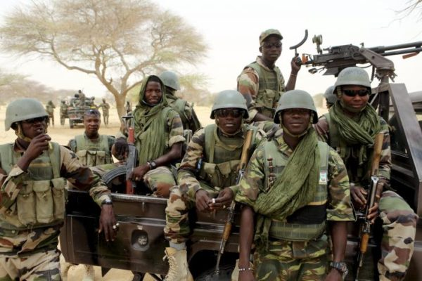 Nigerian troops: rescue commutters from terrorists in Borno