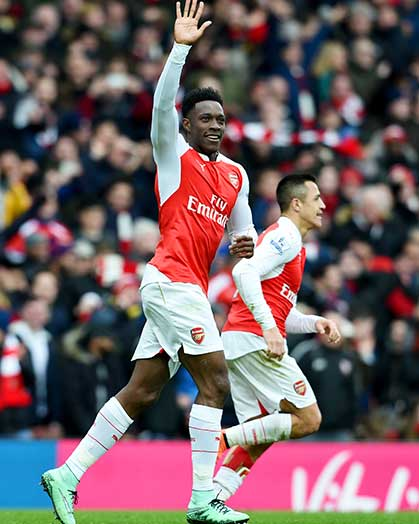 Danny Welbeck: a goal like no other goal