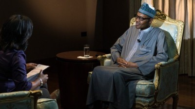 Buhari: during the interview