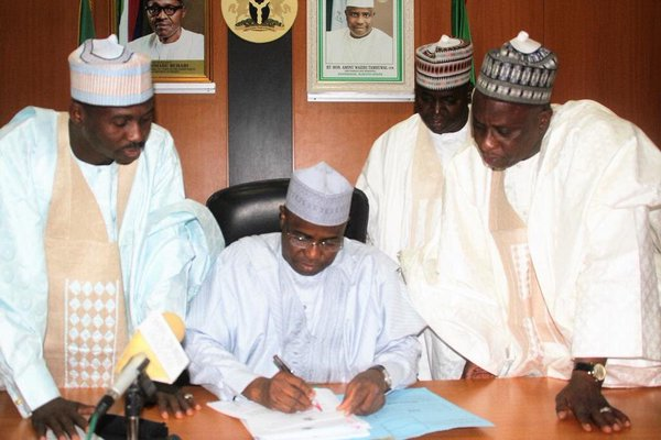 File Photo: Aminu Tambuwal approves payment for pensioners