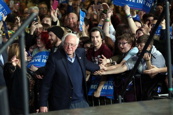 Bernie Sanders: Donald Trumps of the world must not divide America