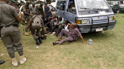 Some of the suspects arrested in Rivers