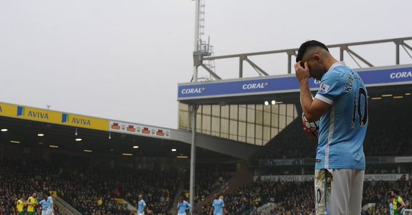 Aguero: a disappointing afternoon