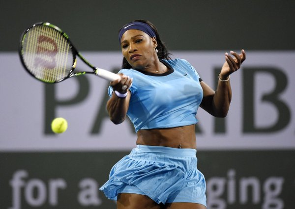 Serena Williams : knocked out in Miami