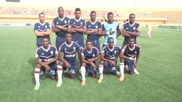 FC IfeanyiUbah: now second on the league table