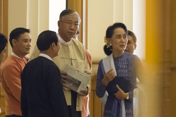 Suu Kyi: may serve as foreign minister