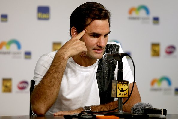 Roger Federer:  playing 'House Husband' puts Swiss meastro in trouble