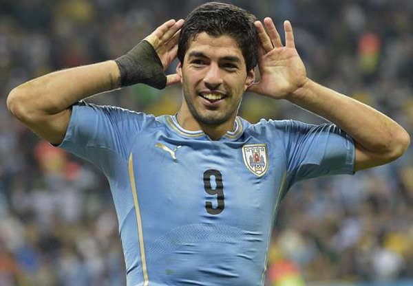 Luis Suarez: helped country to equalise