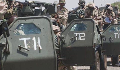 Nigerian Soldiers : 1966 political intervention led to genocide, bloody civil war