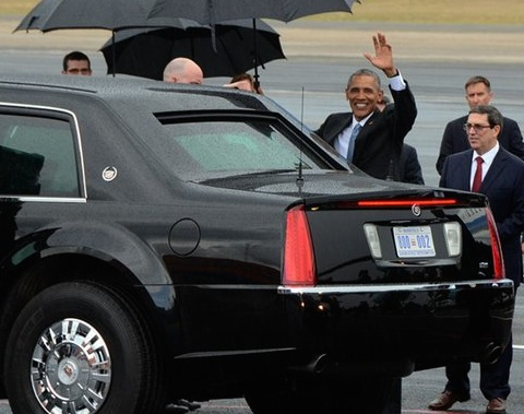 Obama's limo in better detail