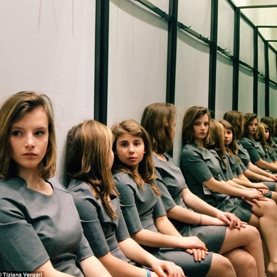 How many girls are really here: two or four?