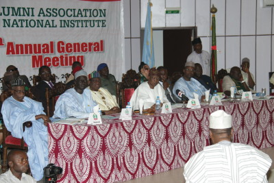 Lai Mohammed and other participants