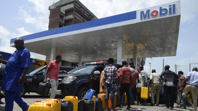 No petrol in many stations